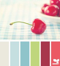 cherry color palette from Design Seeds Color Scheme Design, Colour Pallette, Color Palate, Colour Schemes, Color Combos, Color Patterns, Design Seeds, Colour Board, World Of Color