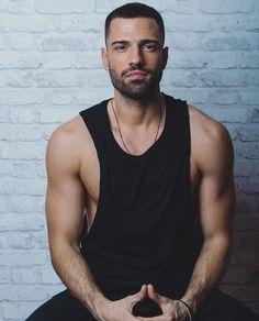 New things coming! Greek Men, Men's Day, Sexy Ebony, Portraits, Mans World, Male Models, Black Men, Beautiful Men, Hot Guys