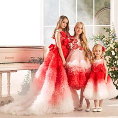 Junona - Your Online Fashion Destination Gowns For Girls, Dresses Kids Girl, Girl Fashion, Fashion Dresses, Daddy Daughter Dance, Party Frocks, Twin Outfits, Tween Girls, Baby Girls