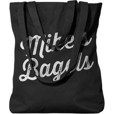 Mike's Bagels cotton tote is made of organic cotton and screen printed with eco-friendly inks. It's a lightweight, market-style tote that's perfect for carrying Bagels, Cotton Tote Bags, Screen Printing, Organic Cotton, Eco Friendly, Printed, Sweatshirts, Style, Fashion