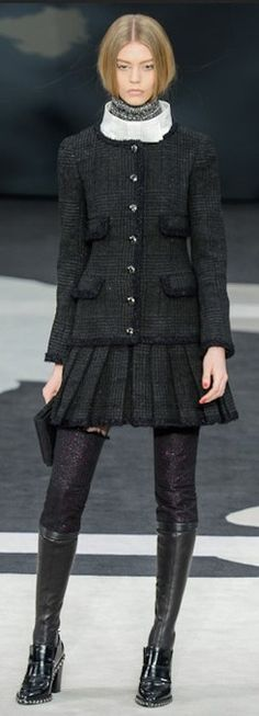 Chanel fall-winter 2013-2014 Repinned by www.fashion.net