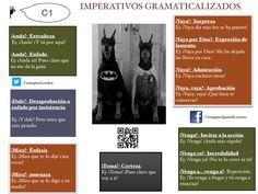 Imperativos gramaticalizados. C1.