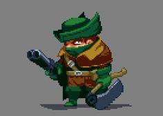 Bloodborne Pixel Artist: dotsMarc Source: twitter.com/dotsmarc / dotsmarc.tumblr.com