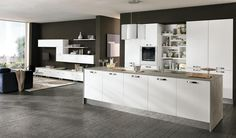 Quadra kitchen | 2015 Edition | White | Colombini Casa