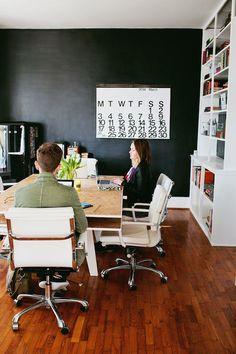 Build It: Multi-Person Office Desk #desk #DIY #studio #office
