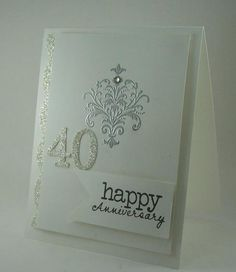 Blinged Up Anniversary by mamaxsix - Cards and Paper Crafts at Splitcoaststampers SCS251