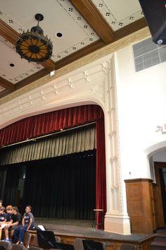 proscenium arch detail