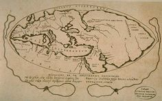 """Ancient Armenia on the map Greek philosopher Posidonius (150 -. 130 BC), in his work """"On the ocean and the surrounding areas."""""""