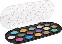 Yasutomo Niji Pearlescent Watercolor Sets 16 colors