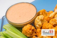 Total 10 Crispy Spicy Buffalo Cauliflower | The Dr. Oz Show