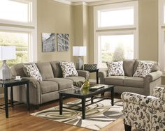 Ashley Furniture Gusti 1110038 Dusk Sofa