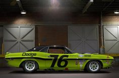 Drag-strip Challenger muscle