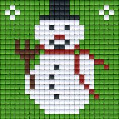 Sneeuwpop groen | Pixel Party