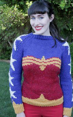 Wonder Woman, de Natalie Bursztyn. http://www.ravelry.com/patterns/library/wonder-woman-2