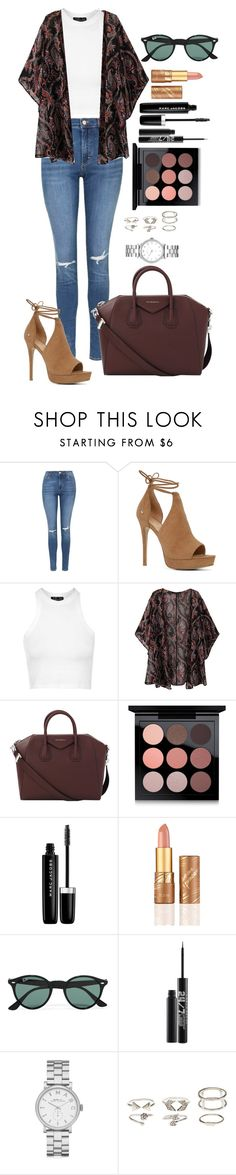 """""""Untitled #1417"""" by fabianarveloc on Polyvore featuring Topshop, ALDO, Givenchy, MAC Cosmetics, Marc Jacobs, tarte, Ray-Ban, Urban Decay, Marc by Marc Jacobs and Charlotte Russe"""