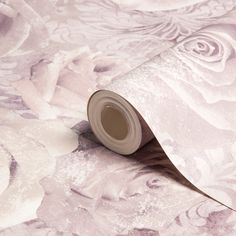 Reverie Floral Mauve & Purple Wallpaper | Departments | DIY at B&Q