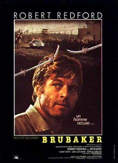 """At first glance I thought this was Misha Collins - Supernatural Nerd Angel - Robert Redford  """"Brubaker"""" (1980)"""