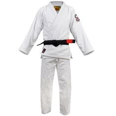 New BJJ Summer Light Training Gi RED NOSE Jiu-Jitsu Heavy Duty JiuJitsu Uniform