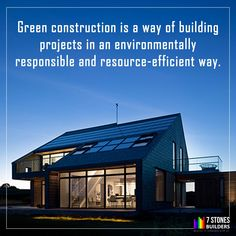 Green construction is a growing field in construction. More and more buildings and plans are incorporating green technology into the construction process. Best Digital Marketing Company, Green Technology, Construction Process, Chennai, Social Media Marketing, Buildings, Web Design, Environment, Explore