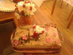 čokoládová torta s malinovou plnkou