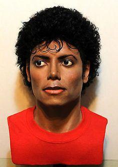 11 lifesize bust custom michael jackson thriller beat it 1984