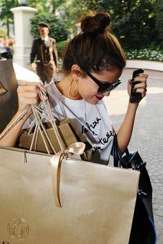 Selena and shops