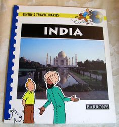 Tintin's Travel Diaries India BARRON'S Young Readers Geography