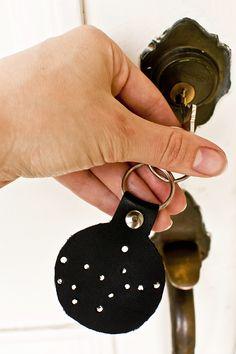 DIY Constellation Keychain Tutorial