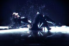 Neon Glitch - Photoshop 2018 © by Benjamin Chassara aka Ness Studio Neon Girl, Dark Artwork, Creative Photos, Photo Effects, Girl Photography, Glitch, Artworks, Gothic, Digital Art