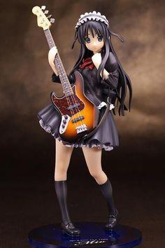 New K-ON Akiyama Mio School Festival Ver 1/8 Scale PVC Figure Anime Japan Cute