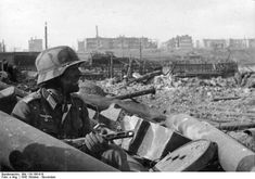 The Battle of Stalingrad (Aug.'42-Feb.'43), the major battle of WW2 where Germany & its allies fought the Soviets for control of the city. Marked by close quarters combat & disregard for military & civilian casualties, it is among the bloodiest battles in all of history. The Wehrmacht's heavy losses made it arguably the most strategically decisive battle of the war, a turning point in the ETO. The Nazis never regained the initiative in the east.
