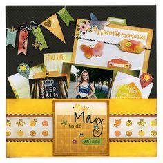 BoBunny: More Of A Year With Calendar Girl! Delightful May! #BoBunny