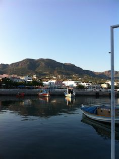 Harbour in Makrigialos, Crete