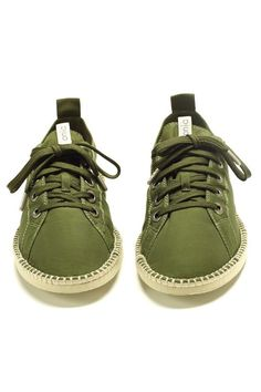 I'd love to own some green shoes.