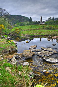 There are some great hiking trails here! Glendlough~Wicklow