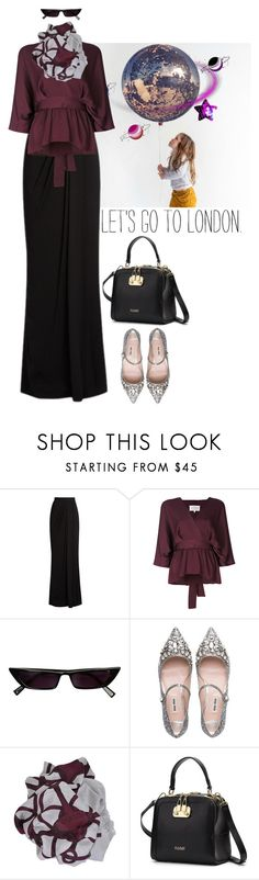"""""""Hijab today!"""" by www-som ❤ liked on Polyvore featuring Alexander McQueen, Maison Margiela, Miu Miu and Gucci"""
