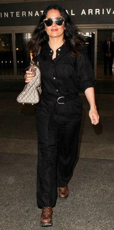 Get inspired by the stars' airport style.