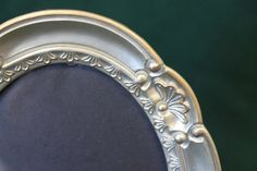 Photo frame vintage oval picture frame by CalmAndCollectedShop, $9.00