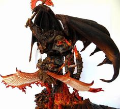 HOBBY: Sanguinius vs Bloodthirster Conversion You MUST See | Warhammer 40k, Fantasy, Wargames & Miniatures News: Bell of Lost Souls