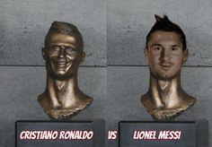 Best Cristiano Ronaldo & Lionel Messi Bust Memes The very best memes of Cristiano Ronaldo's hilariously terrible statue