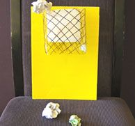Indoor Paper Basketball Activity - Art And Craft - Also could put paper clumps around the room and have the children throw them into the trash cans