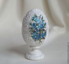 "Prezenty na Wielkanoc ręcznie. Fair Masters - ręcznie. Kup Pisanka ""Dzwoneczek"". Handmade. biały Egg Crafts, Easter Crafts, Diy And Crafts, Drawing Rocks, Egg Shell Art, Craft Projects, Projects To Try, Egg Art, Egg Decorating"
