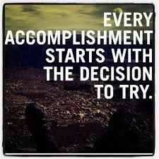 Every accomplishment starts with the decision to try. #ChitrChatr #EarlySubscribersPromo