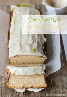 Coconut and Lime Pound Cake - apart from being delicious & healthy, this is zingy and moist & a breeze to make