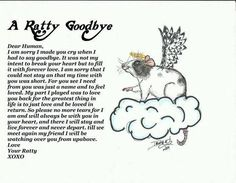 A Ratty Goodbye. (I don't know the source).