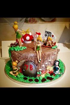 Fairy Glen chocolate cake💕