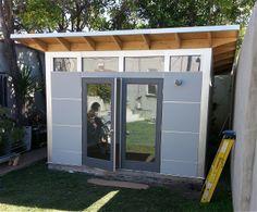 www.studio-shed.com Studio Shed Home gym in the backyard // modern shed | studio | yard | ideas