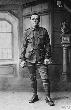 WWI, 11 Jan 1916: Pt G Karllstrom, AIF, died of wounds, France. ©IWM