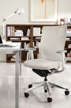 From all-day ergonomic office chairs to the iconic executive office chair, we offer a full line of home office furniture.