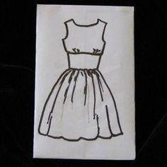 50s dress burda